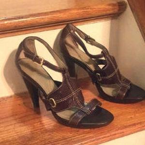Tahari Women's Brown Sandals